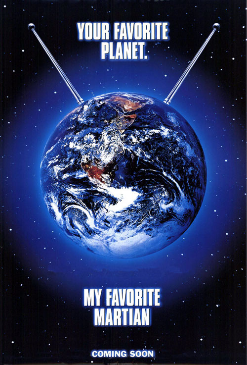 Us poster from the movie My Favorite Martian