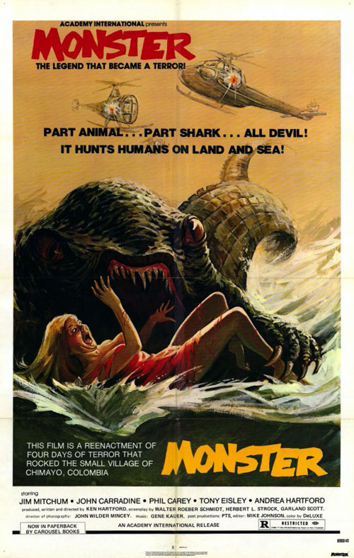 Unknown poster from the movie Monster