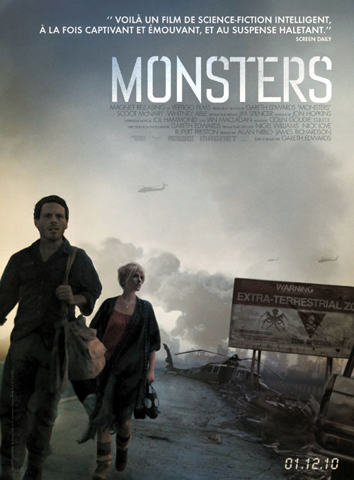Affiche française de 'Monsters'