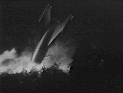 The rocket crushed - The Quatermass Xperiment (The Quatermass Xperiment)