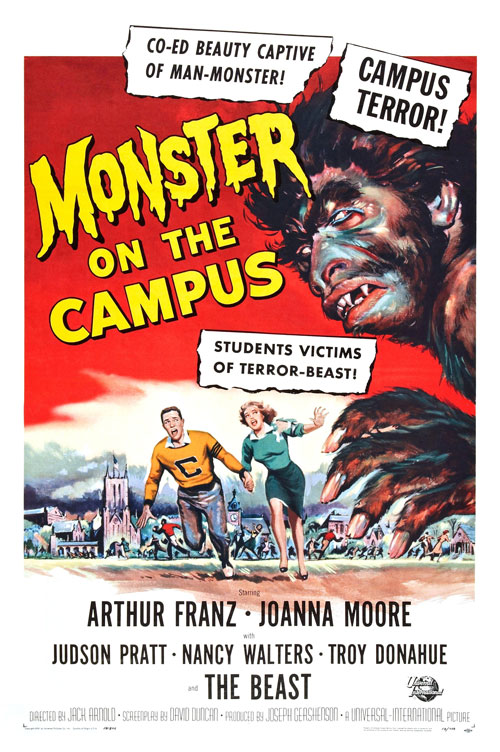 Us poster from the movie Monster on the Campus
