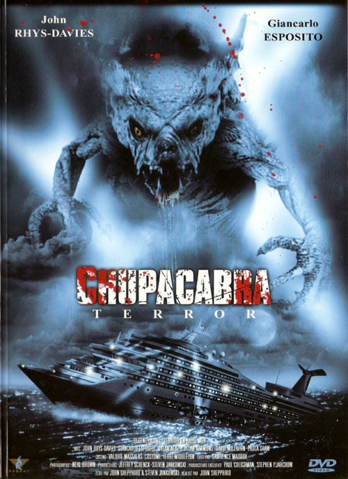 Unknown artwork from the movie Chupacabra Terror