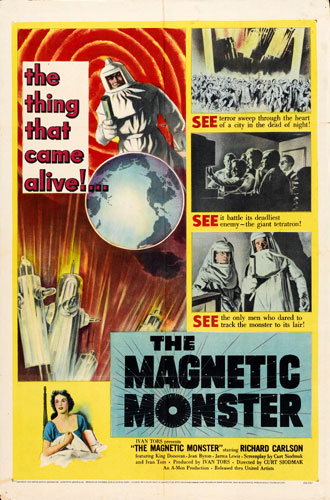 Unknown poster from the movie The Magnetic Monster