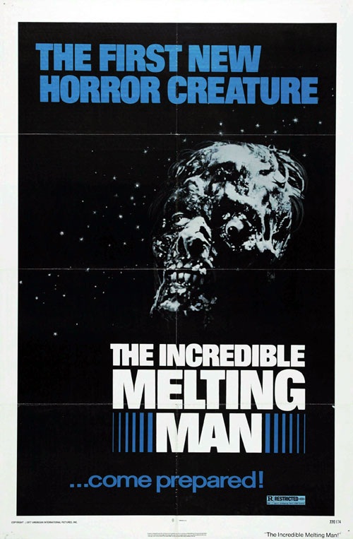 Us poster from the movie The Incredible Melting Man