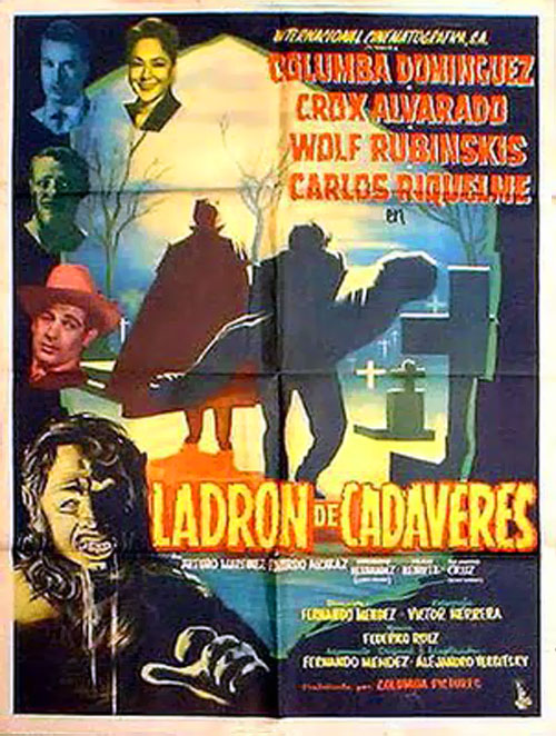 Unknown poster from the movie The Body Snatcher (Ladrón de cadáveres)