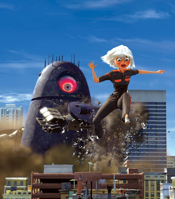 Photo de 'Monstres contre aliens' - ©2009 DreamWorks Animation - Monstres contre aliens (Monsters vs Aliens) - cliquez sur la photo pour la fermer