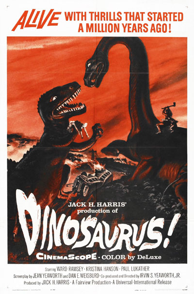 Us poster from the movie Dinosaurus!