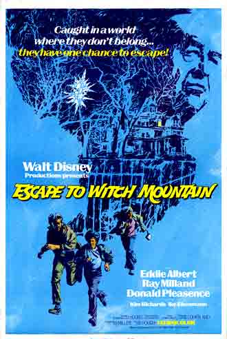 Us poster from the movie Escape to Witch Mountain