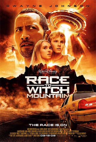 Us poster from the movie Race to Witch Mountain