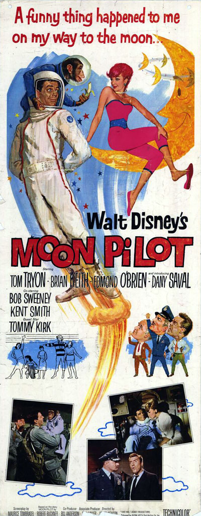 Us poster from the movie Moon Pilot