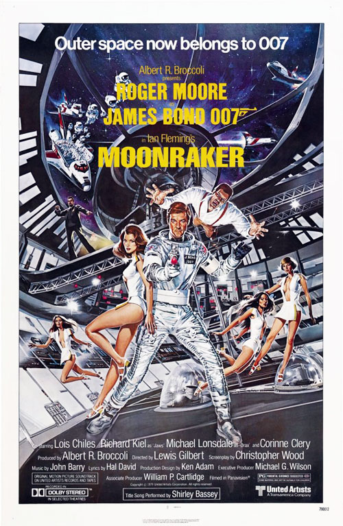 Us poster from the movie Moonraker