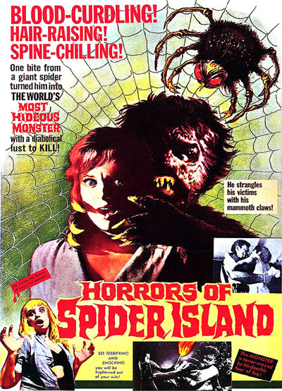 Unknown poster from the movie Horrors of Spider Island (Ein Toter hing im Netz)