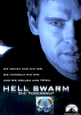 German poster from the TV movie Hell Swarm