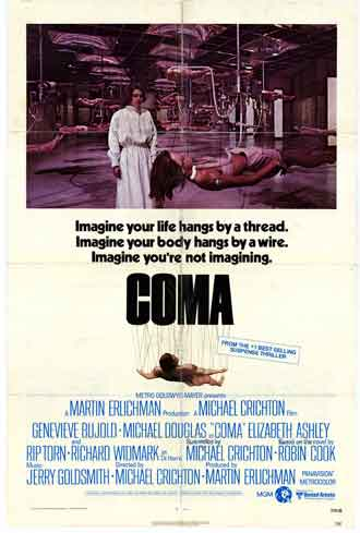 Us poster from the movie Coma
