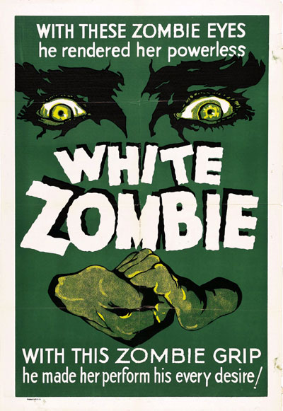 Us poster from the movie White Zombie