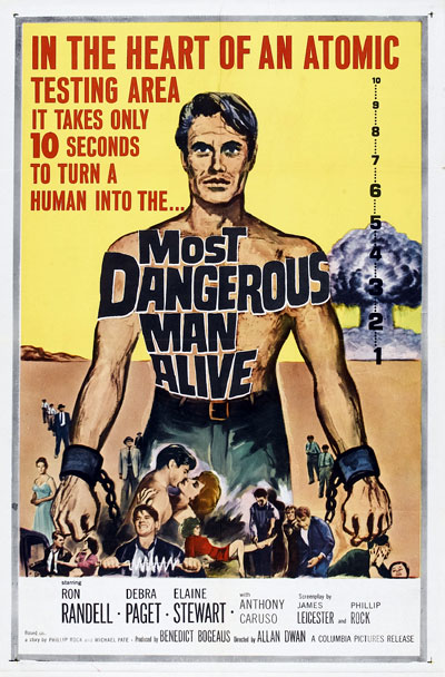 Us poster from the movie Most Dangerous Man Alive
