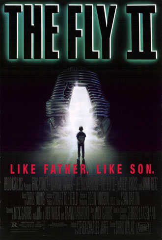 Us poster from the movie The Fly II