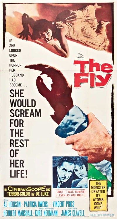 Unknown poster from the movie The Fly
