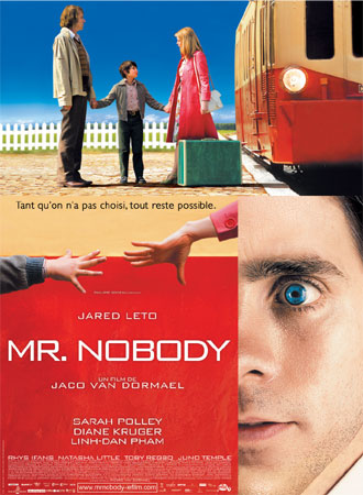 French poster from the movie Mr. Nobody