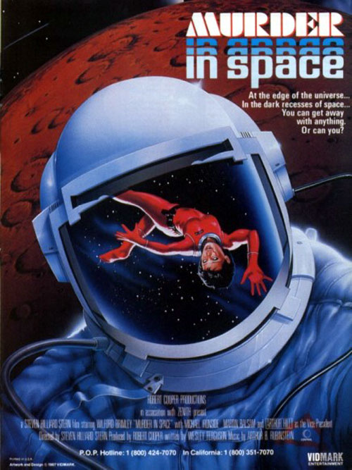 Us poster from the TV movie Murder in space (Murder in Space)