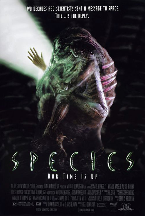 Us poster from the movie Species
