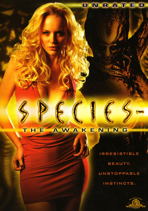 Us poster from the movie Species: The Awakening