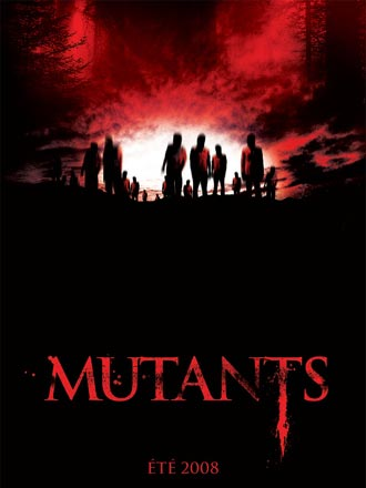 French poster from the movie Mutants