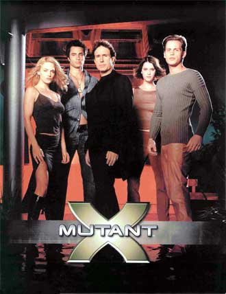 Unknown poster from the series Mutant X