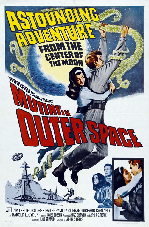 Us poster from the movie Mutiny in Outer Space