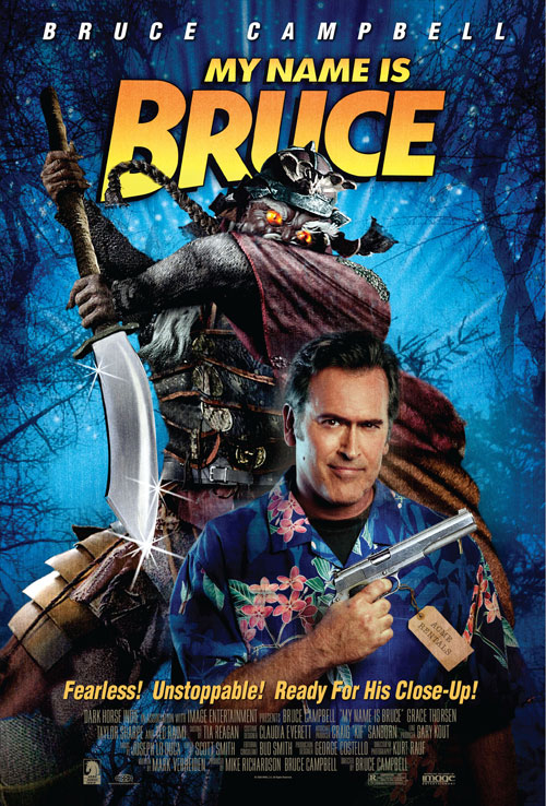 Affiche américaine de 'My Name Is Bruce'