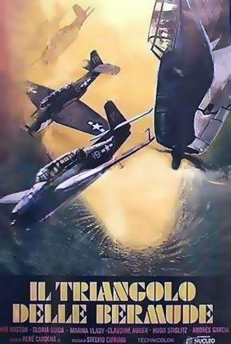 Italian poster from the movie The Bermuda Triangle