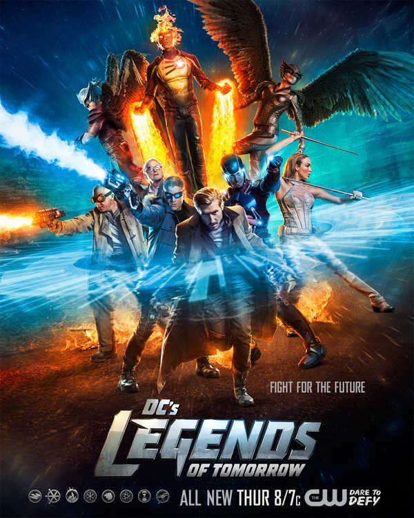 Us poster from the series Legends of Tomorrow