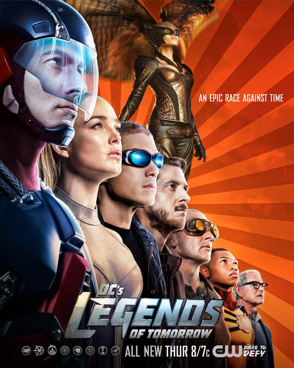 Affiche américaine de 'Legends of Tomorrow'
