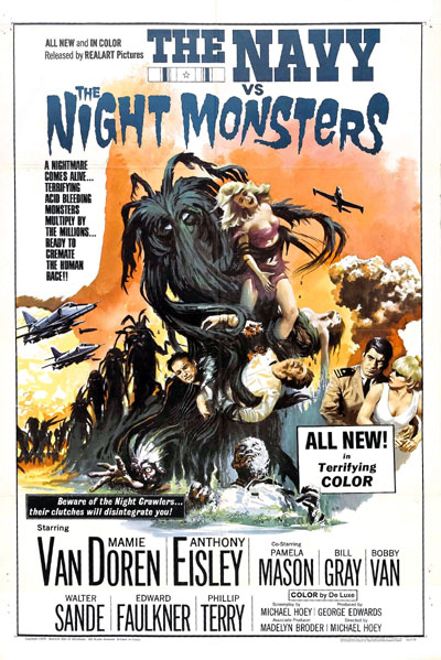 Us poster from the movie The Navy vs. the Night Monsters