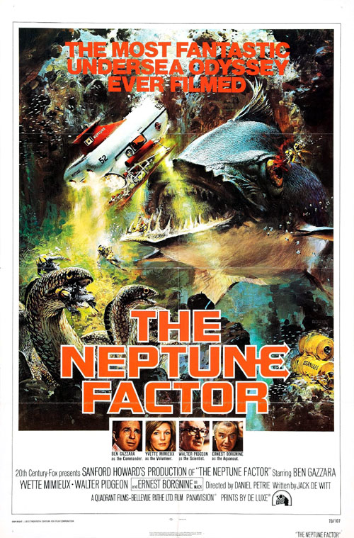 Us poster from the movie The Neptune Factor
