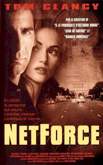 French poster from the TV movie NetForce