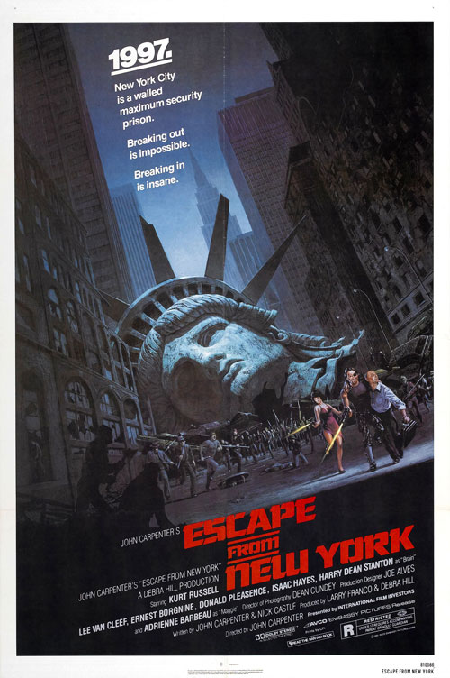 Us poster from the movie Escape From New York (Escape from New York)