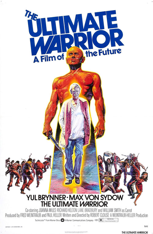 Us poster from the movie The Ultimate Warrior
