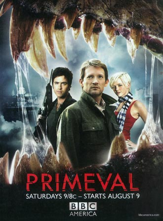 Us poster from the series Primeval