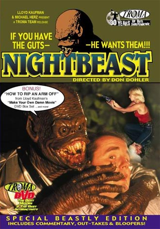 Unknown artwork from the movie Nightbeast
