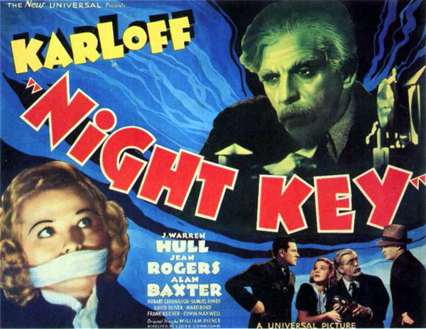 Affiche inconnue de 'Night Key'