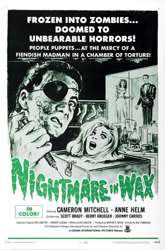 Us poster from the movie Nightmare in Wax