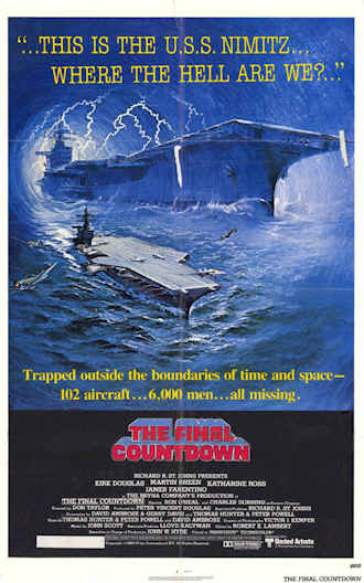 Us poster from the movie The Final Countdown