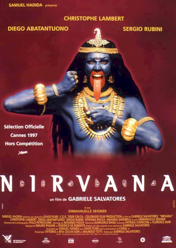French poster from the movie Nirvana