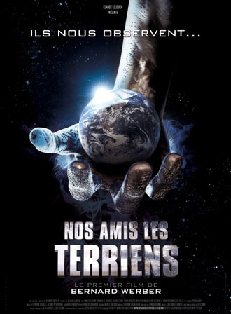 French poster from the movie Nos amis les Terriens