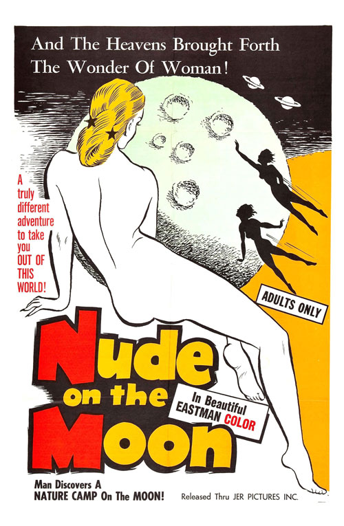 Us poster from the movie Nude on the Moon