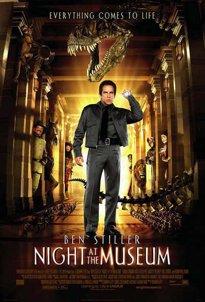 Us poster from the movie Night at the Museum