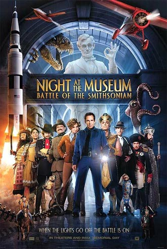 Us poster from the movie Night at the Museum: Battle of the Smithsonian
