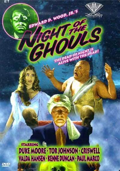 Unknown artwork from the movie Night of the Ghouls