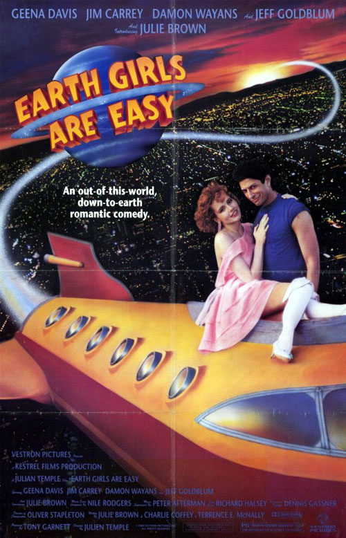 Us poster from the movie Earth Girls Are Easy